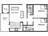 Villas on Apache and Apache Terrace Tempe Floor Plan Layout