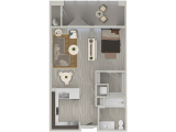 NEXA Apartments Tempe Floor Plan Layout