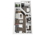 ON50 Apartments Tampa Floor Plan Layout