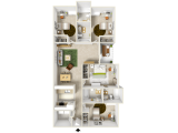 Reflections Apartments Tampa Floor Plan Layout