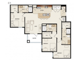 Canopy Apartments Gainesville Floor Plan Layout