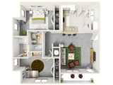 Gainesville Place  Floor Plan Layout