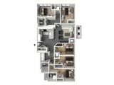 The Standard Midtown Atlanta Floor Plan Layout