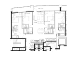 Square on Fifth (SQ5) Atlanta Floor Plan Layout