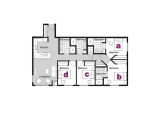 Stadium Village Flats Minneapolis Floor Plan Layout