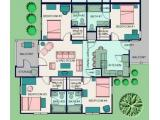 University Oaks Raleigh Floor Plan Layout
