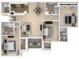 Society 865 Knoxville Floor Plan Layout
