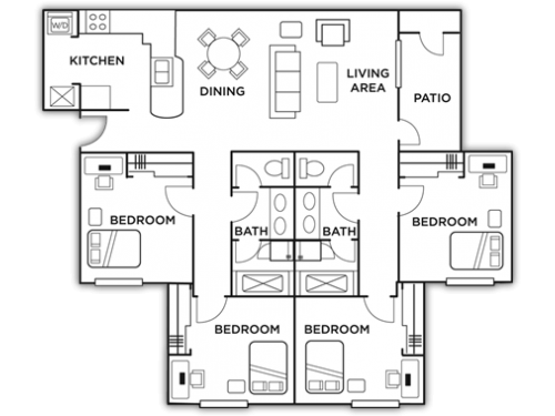 The Heights Knoxville Floor Plan Layout