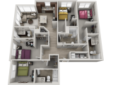 303 Flats Knoxville Floor Plan Layout