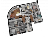 Rise at Northgate College Station Floor Plan Layout