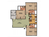 The Zone at College Station  Floor Plan Layout