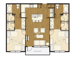 The Lofts at Wolf Pen Creek College Station Floor Plan Layout