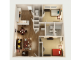 The Woodlands of College Station Floor Plan Layout