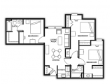 The Callaway House College Station Floor Plan Layout