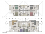 The Cottages of College Station  Floor Plan Layout