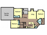 Ashton Pointe Lubbock Floor Plan Layout