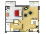 U Lofts Lubbock Floor Plan Layout