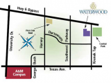Waterwood Townhomes at Central Park College Station Nearby Conveniences
