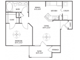 Park Hudson Place Bryan Floor Plan Layout