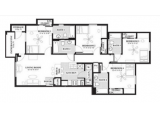 University Trails College Station  Floor Plan Layout