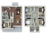 The Retreat at San Marcos  Floor Plan Layout