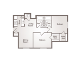 University Square College Station Floor Plan Layout