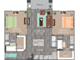 Uptown Square San Marcos Floor Plan Layout