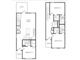 The Retreat at College Station Floor Plan Layout