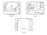 21 Hundred at Overton Park Lubbock Floor Plan Layout